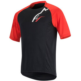 Alpinestars Trailstar Bike Jersey Shortsleeve Men red/black